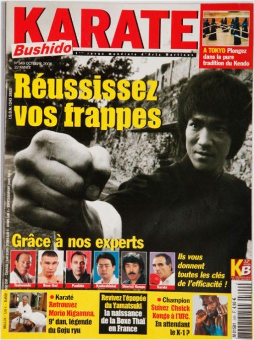 Karaté Bushido Octobre 2006 (N°349)