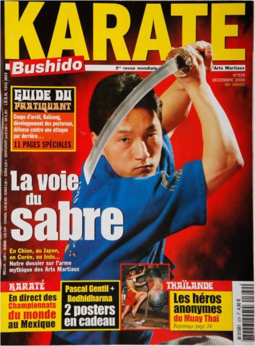 Karaté Bushido Décembre 2004 (N°329)