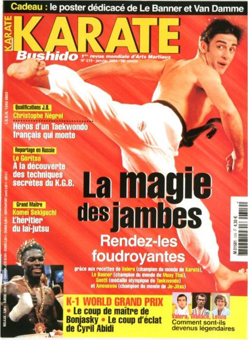 Karaté Bushido Janvier 2004 (N°319)