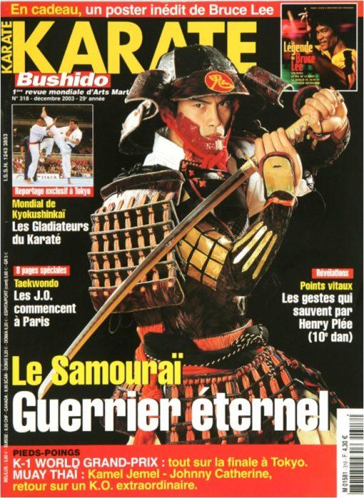 Karaté Bushido Décembre 2003 (N°318)