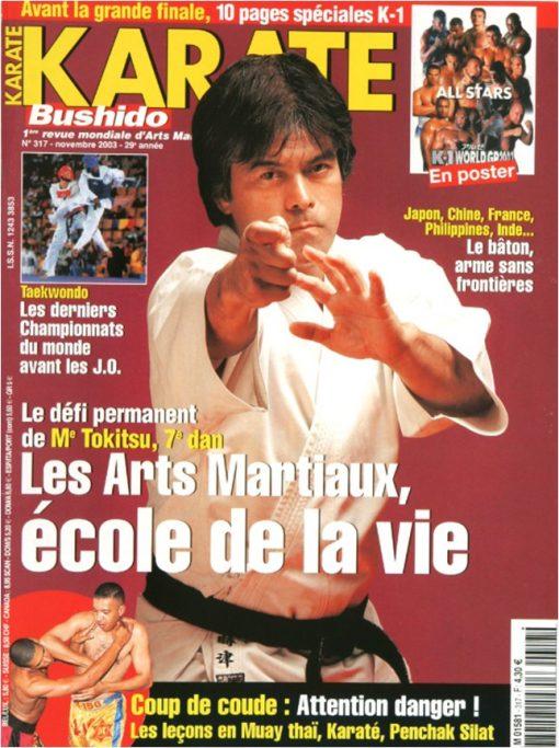Karaté Bushido Novembre 2003 (N°317)