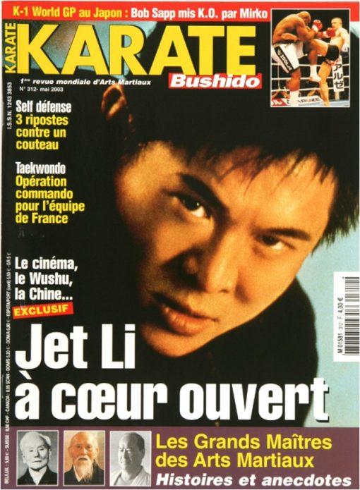 Karaté Bushido Mai 2003 (N°312)