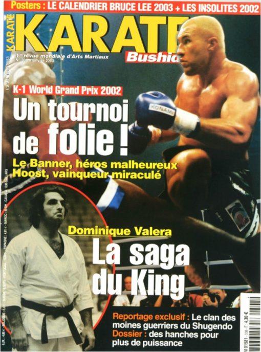 Karaté Bushido Janvier 2003 (N°308)