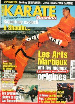 Karaté Bushido Novembre 2002 (N°306)
