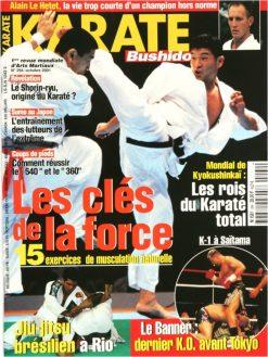 Karaté Bushido Octobre 2001 (N°294)