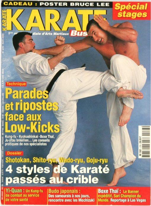 Karaté Bushido Avril 2000 (N°278)