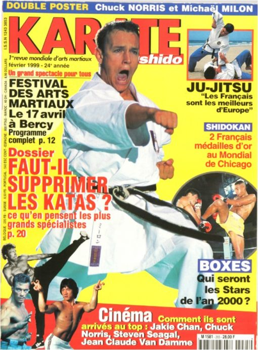 Karaté Bushido Février 1999 (N°265)