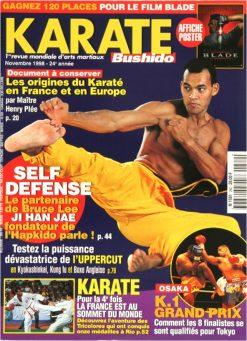 Karaté Bushido Novembre 1998 (N°262)