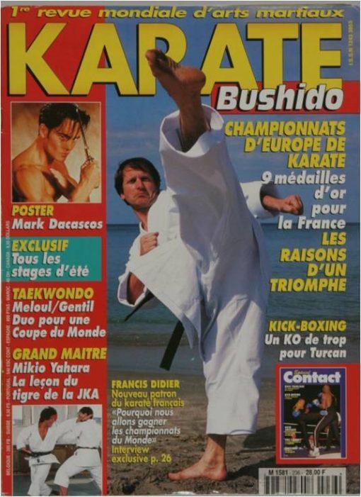 KARATE BUSHIDO JUIN 1996