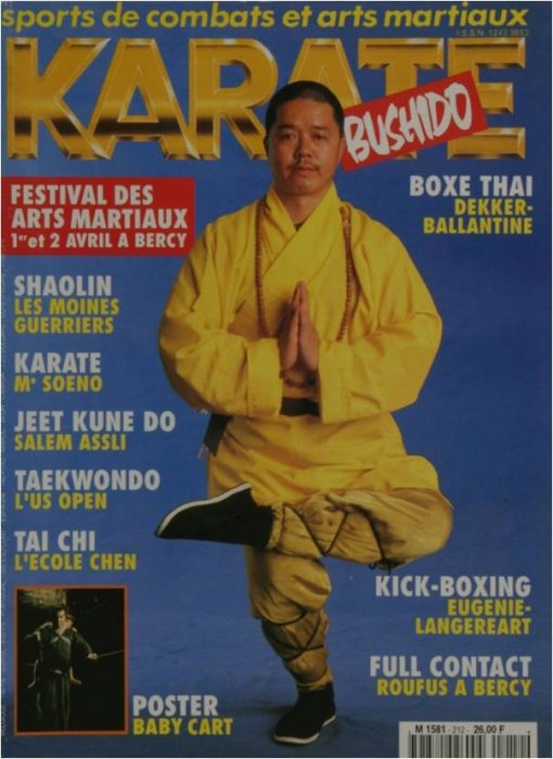 KARATE BUSHIDO AVRIL 1994