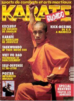 KARATE BUSHIDO n°205 SEPTEMBRE 1993 EN NUMERIQUE