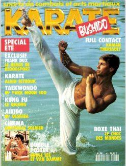 KARATE BUSHIDO n°193 JUILLET AOUT 1992 EN NUMERIQUE