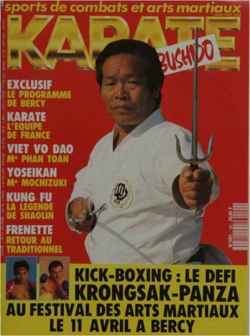 KARATE BUSHIDO AVRIL 1992