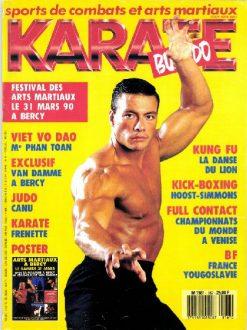 KARATE BUSHIDO n°167 MARS 1990 EN NUMERIQUE
