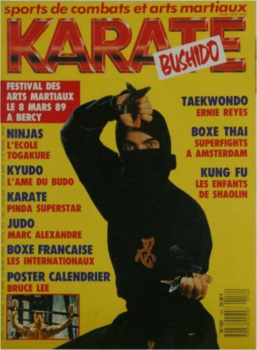 KARATE BUSHIDO JANVIER 1989
