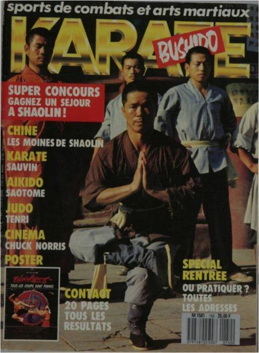 KARATE BUSHIDO SEPTEMBRE 1988