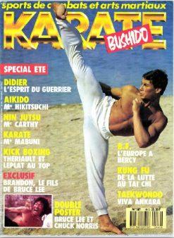 KARATE BUSHIDO n°149 JUILLET-AOUT 1988 EN NUMERIQUE