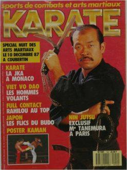 KARATE BUSHIDO DECEMBRE 1987