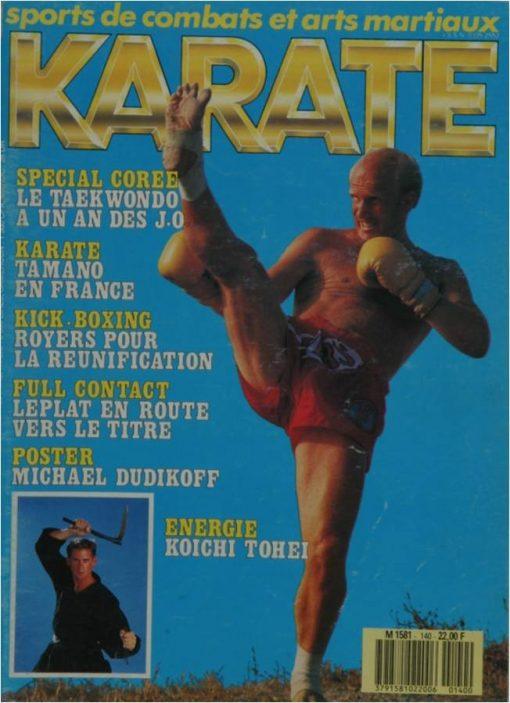 KARATE BUSHIDO OCTOBRE 1987