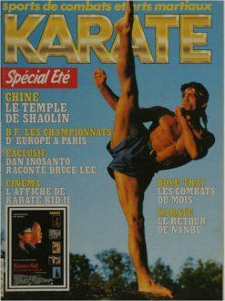 KARATE BUSHIDO JUILLET-AOUT 1986