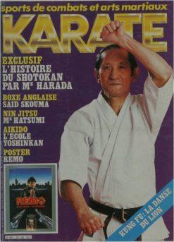 KARATE BUSHIDO AVRIL 1986