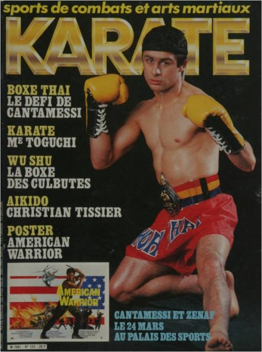 KARATE BUSHIDO MARS 1986