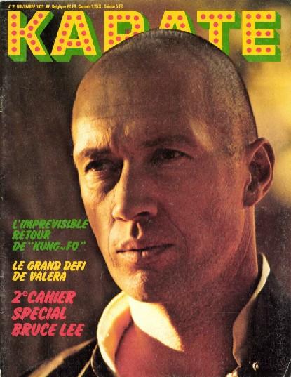 KARATE BUSHIDO n°15 NOVEMBRE 1975 EN NUMERIQUE