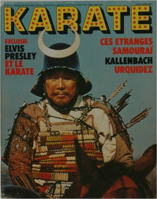 KARATE BUSHIDO FEVRIER 1978
