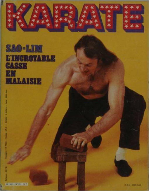 KARATE BUSHIDO NOVEMBRE 1981