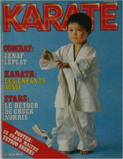KARATE BUSHIDO AVRIL 1983