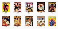 Pack Collector 10 premiers numéros de Karaté Bushido en NUMERIQUE