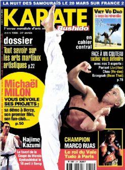 KARATE BUSHIDO n°255 MARS 1998 EN NUMERIQUE