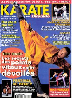KARATE BUSHIDO n°257 MAI 1998 EN NUMERIQUE