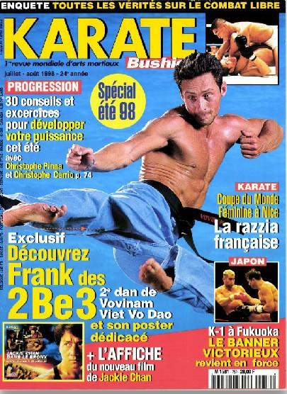 KARATE BUSHIDO n°259 JUILLET AOUT 1998 EN NUMERIQUE
