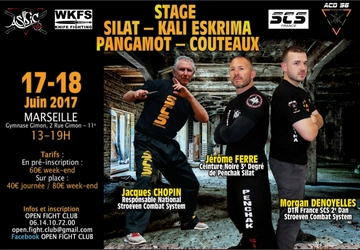 stage silat marseille