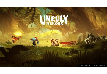 unruly heroes affiche affiche