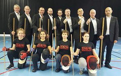 Préparation 33ème Festival des AM bâton français et canne de combat