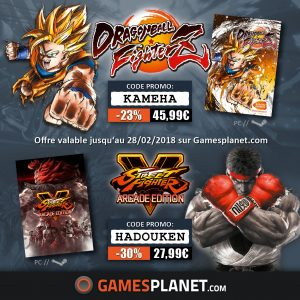 Gamesplanet_DragonBallFighterZ_SFV_DEALS