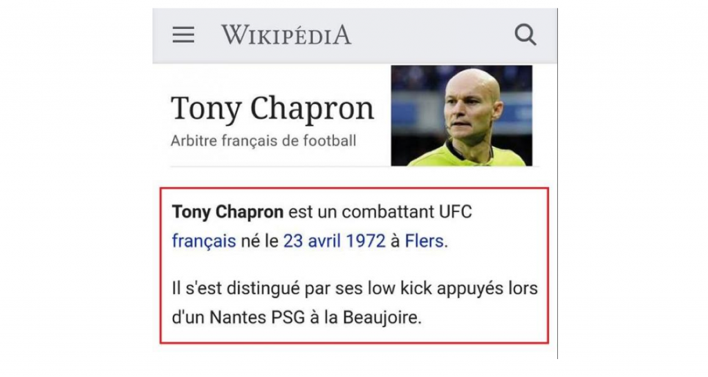 Tony ChapronImage 1