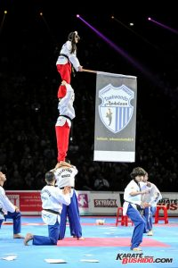 L'équipe impressionnante de Taekwondo Andalous