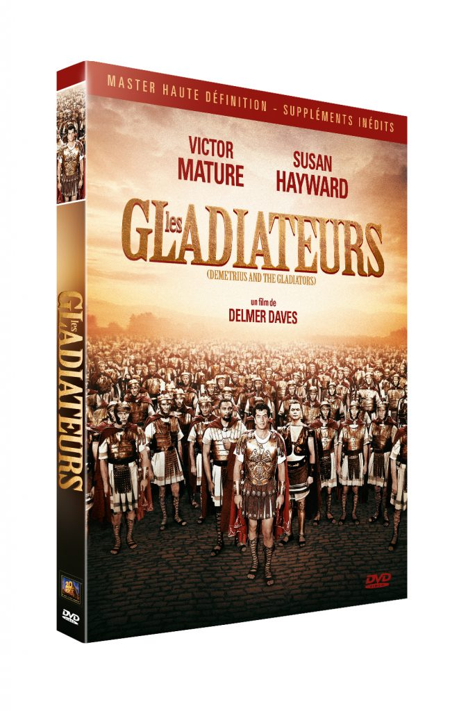 Les Gladiatuers, maintenant disponible en DVD (14,99€)