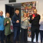 L'équipe de Karaté Bushido a eu le plaisir d'accueillir Soshei Kamada et Djema Belkhodja dans ses bureaux