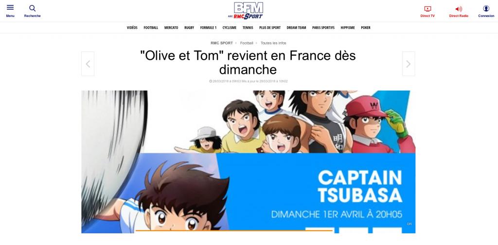 """""""Olive et Tom"""" de retour en France"""