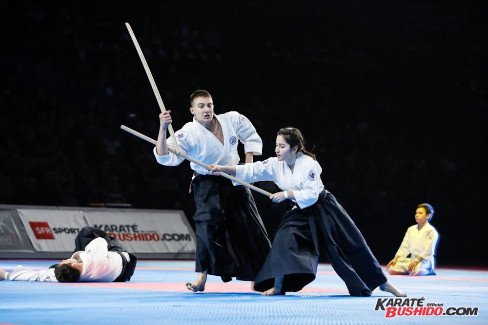 Démonstration d'Aikido Tatar