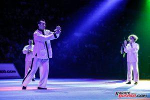 Démonstration en lumière pour le Kung Fu Gu Qi Dao