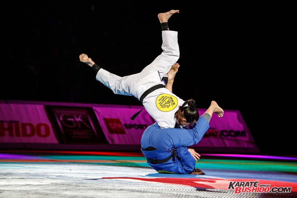 Combat spectaculaire pour le Jiu Jitsu brésilien