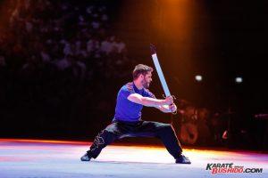 Démonstration de kung fu wushu