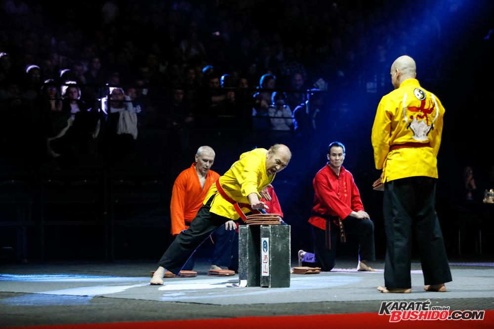 Epreuve de casse pour l'équipe de Chau Phan Toan en Tayson Vo Dao