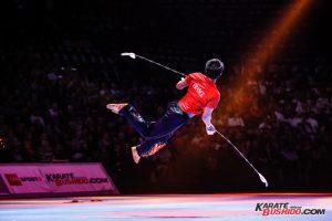 Démonstration impressionnante de Kung Fu Wushu par Leo Benouaich et son équipe
