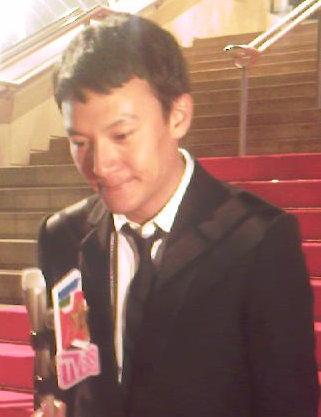 Chang Cheng au Festival de Cannes 2008. Crédit : Etienne André
